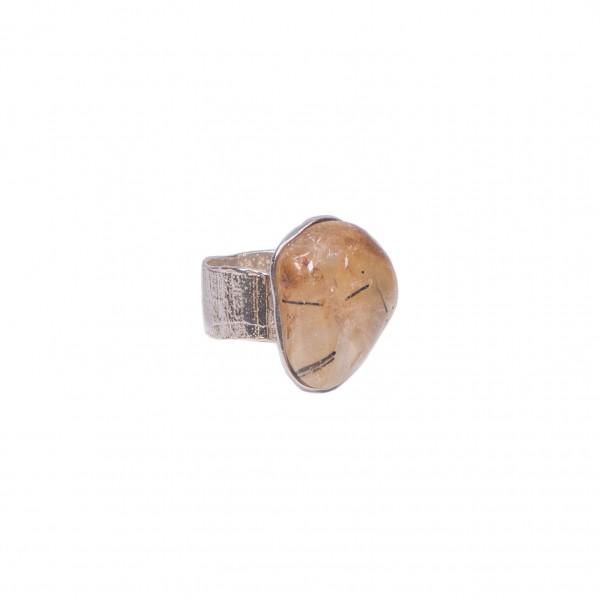 Δαχτυλίδι με Ρουτίλιο