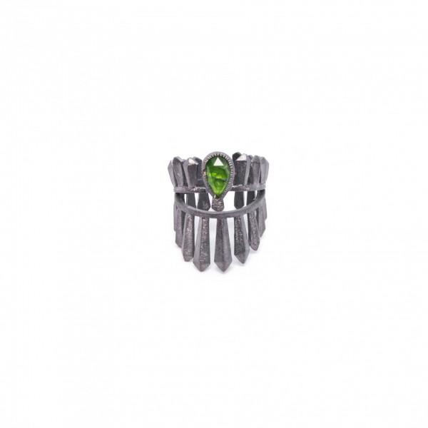 """Δαχτυλίδι """"Kreus"""" με Διοπτάσιο"""