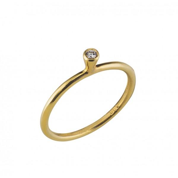 Χρυσό Διαμαντένιο Δαχτυλίδι