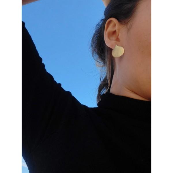 Επιχρυσωμένα σκουλαρίκια