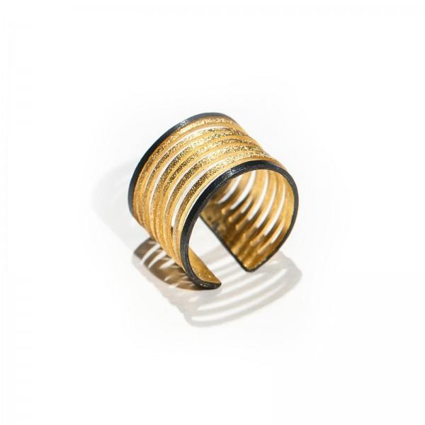 """Δαχτυλίδι """"Stripes Collection """""""