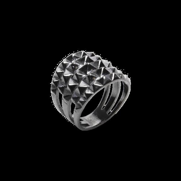 Ασημένιο Δαχτυλίδι Κώνοι