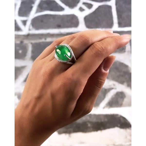 Δαχτυλίδι με Jade